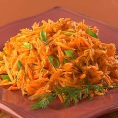 Keep you diet clean with fresh vegetable salads like this Lemony Carrot Salad Recipe