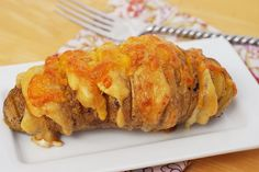 Scalloped Hasselback Potatoes I think that this is what we shall try next time, though.....
