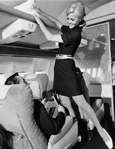 Vintage Stewardess