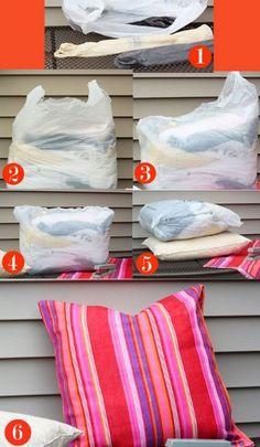 Como reciclar sacolinhas plasticas
