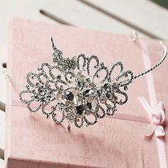 ラインストーン韓国風合金の花嫁の天飾り - JPY ¥ 2,986