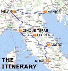 Places To Visit In Florence Italy 2 Days Carte Grece Voyageur Vacances Italie