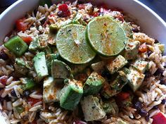 Mexican Pasta Salad Recipe www.noplacelykehome.blogspot.com