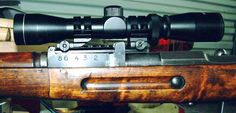 Springfield M1903A4    bolt   action sniper rifle with bayo