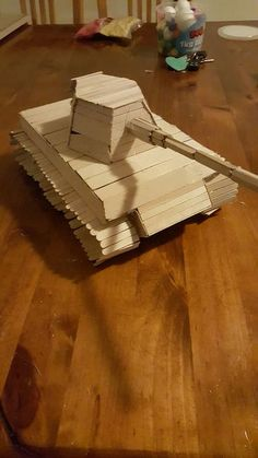 how to make a pirate ship out of popsicle sticks