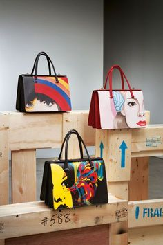 Prada's Wall Art Bags