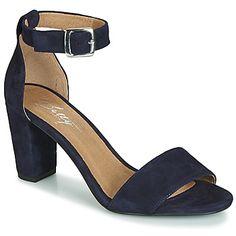 Σανδάλια / Πέδιλα Betty London CRETOLIA Marine 72.00 € Peeps, Peep Toe, London, Shoes, Fashion, Moda, Zapatos, Shoes Outlet, La Mode