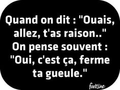 Ca c'est vrai ! French Phrases, French Quotes, Keep Calm Quotes, Quotes To Live By, Words Quotes, Sayings, Quote Citation, Thats The Way, Quote Aesthetic