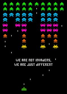 Social Arcade #gaming #8bit #spaceinvaders