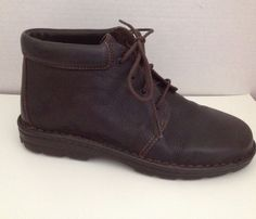 Cherokee Boots Womens Size 9 M Brown Chukka Ankle Boot 9M Brazil #Cherokee #AnkleBoots #Casual