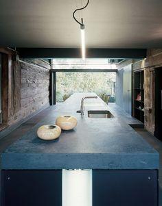 Wespi & de Meuron. Trasformazione Cucina gr./we. a Dottikon ag 2004
