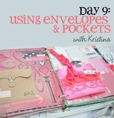 Tips & Tricks for Using Envelopes & Pockets
