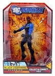 Black Lightning Manufacturer: Mattel Toys Series: DCU Classics 5 Release Date: November 2008 For ages: 4 and up UPC: 027084660210 Details (Description): Save the world (and your collection) with these ever-popular heroes! From Mattel and the DC Universe, this exciting batch of 7-inch scale Action Figures features brilliant colors, tons of detail, and plenty of articulation. Plus, each amazing character comes with an extra accessory that enables you to build a special bonus figure! Dont miss…