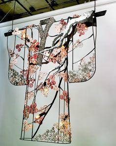 Kimono Cherry Blossom - Side View