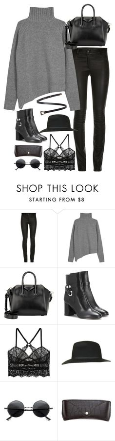 """Untitled#4181"" by fashionnfacts ❤ liked on Polyvore featuring Joseph, Givenchy, Isabel Marant, ELSE, Topshop, Retrò, H&M and Yves Saint Laurent"