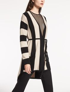 Max Mara CELSO beige: Cashmere and silk cardigan.