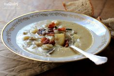 krémová zemiaková polievka coolinari