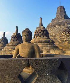 Borobudur, Indonesia #UNESCO