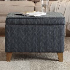 Found it at Wayfair - Storage Ottoman