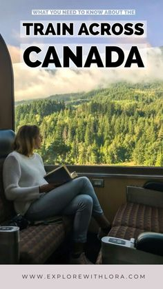 Taking the train across Canada from coast to coast is one of the most unique and beautiful ways to see the country. Find out everything you need to know about taking a train through Canada with VIA Rail. Ottawa, Quebec, Train Route, By Train, Train Trip, Vancouver, Travel Guides, Travel Tips, Travel Packing