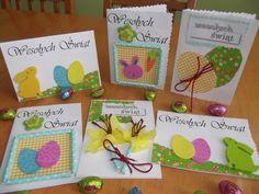 Mama Balbinka: DIY: Kartki Wielkanocne. Jak zrobić samemu?
