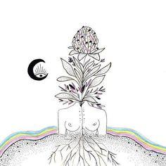-Thich Nhat Hanh Art by MerakiLabbe Kunst Inspo, Art Inspo, Illustration Art, Illustrations, Mystique, Artsy Fartsy, Body Art, Art Drawings, Art Photography