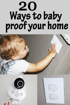 20 ways to baby proof your home Parenting Advice, Practical Parenting, Parenting Toddlers, Mom Advice, Baby Hacks, Mom Hacks, Baby Tips, Baby Ideas, New Baby Checklist
