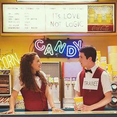 "It's love not logic"" •3• Clay Hannah. Yay.  XD"