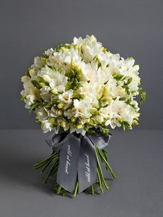 Nikki Tibbles Wild At Heart Ltd — Scented Freesia Bouquet
