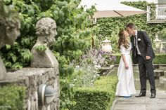 Clare and David in the gardens of Contemporary wedding photography by PK Paul Kelly, Irish Wedding, Photography Services, High Quality Images, Big Day, Ireland, Wedding Photography, David, Gardens