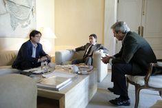 Ignacio González mantiene una reunión con sindicatos madrileños
