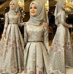 where to buy gothic wedding dresses Wedding Hijab Styles, Muslim Wedding Dresses, Muslim Dress, Bridal Dresses, Hijab Evening Dress, Hijab Dress Party, Muslim Fashion, Hijab Fashion, Fashion Dresses