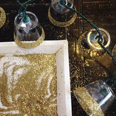 Glitter Lighted Garland by Love The Day