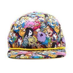 Gorra de los personajes de Hora de Aventuras.