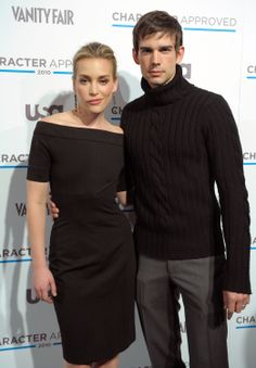 Why so serious Chris? Covert Affairs stars Piper Perabo & Christopher Gorham