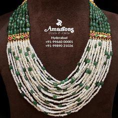 Indian Jewelry Earrings, Fancy Jewellery, Jewelry Design Earrings, Indian Wedding Jewelry, Bead Jewellery, Bridal Jewelry, Gold Jewelry, Jewellery Designs, Gold Necklaces