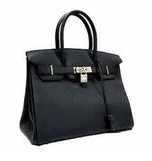 Hermés Black Birkin Bag