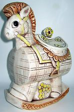 Rocking Horse Cookie Jar