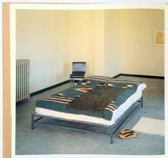 Donald Judd bed