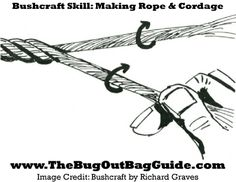Bushcraft Skills: Making Cordage