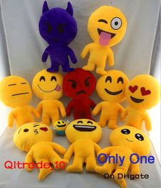 10 Styles Length 30cm Cushion Cute Lovely Emoji Smiley Pillows Cartoon Cushion Pillows Yellow Round Emoji Doll Stuffed Plush Toy Cushions For Lounge Chairs Outdoor High Back Chair Cushions Clearance From Qltrade_10, $4.73| Dhgate.Com