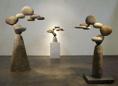 Woods Davy Stone Sculpture