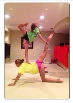 2 person acro stunts  google search more  fun activities
