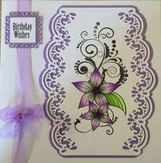 Honey Doo Crafts Acrylic Stamps - Sample Gallery Card Making Inspiration, Making Ideas, Honey Doo Crafts, Die Cut Cards, Heartfelt Creations, Stamping Up, Flower Cards, Homemade Cards, Stampin Up Cards