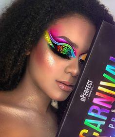 Eye Makeup Designs, Eye Makeup Art, Beauty Makeup, Rainbow Makeup, Colorful Eye Makeup, Creative Makeup Looks, Simple Makeup, Rave Makeup, Halloween Eye Makeup