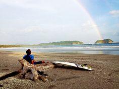 Rainbow in Samara Beach