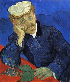 Portrait of Doctor Gachet, 1890 -Vincent van Gogh