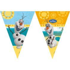 Leuke slinger van Olaf de Sneeuwman uit de film Frozen.