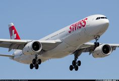 Swiss International Air Lines HB-JHN Airbus A330-343X aircraft picture