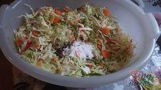 NapadyNavody.sk   Najlepšia domáca čalamáda bez zavárania Cabbage, Grains, Rice, Vegetables, Food, Veggie Food, Cabbages, Vegetable Recipes, Meals